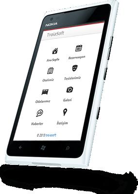 Online Otel Sistemi Mobil Alt Yapı